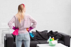 Checkliste für einen sauberen Haushalt