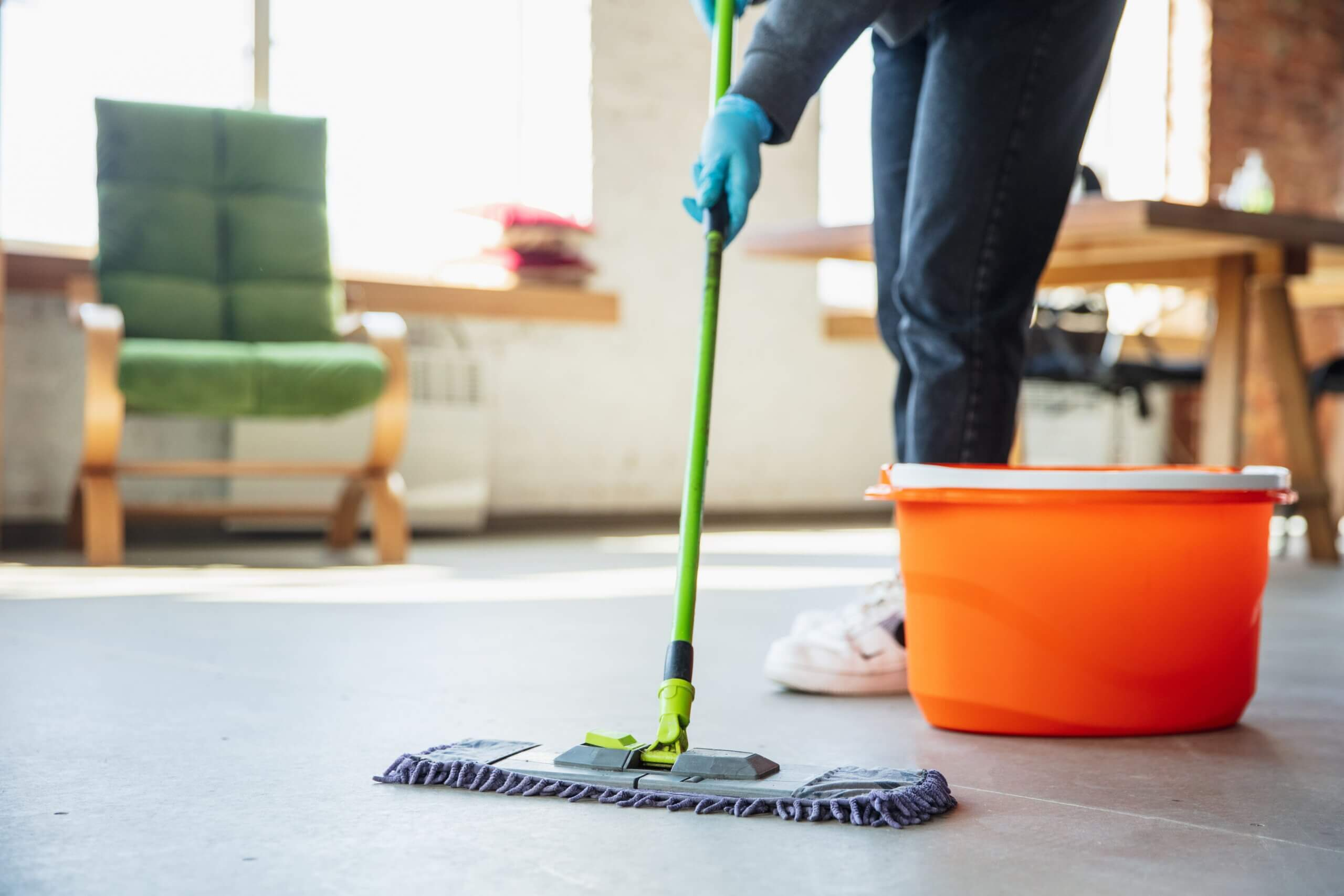 gebäude reinigung