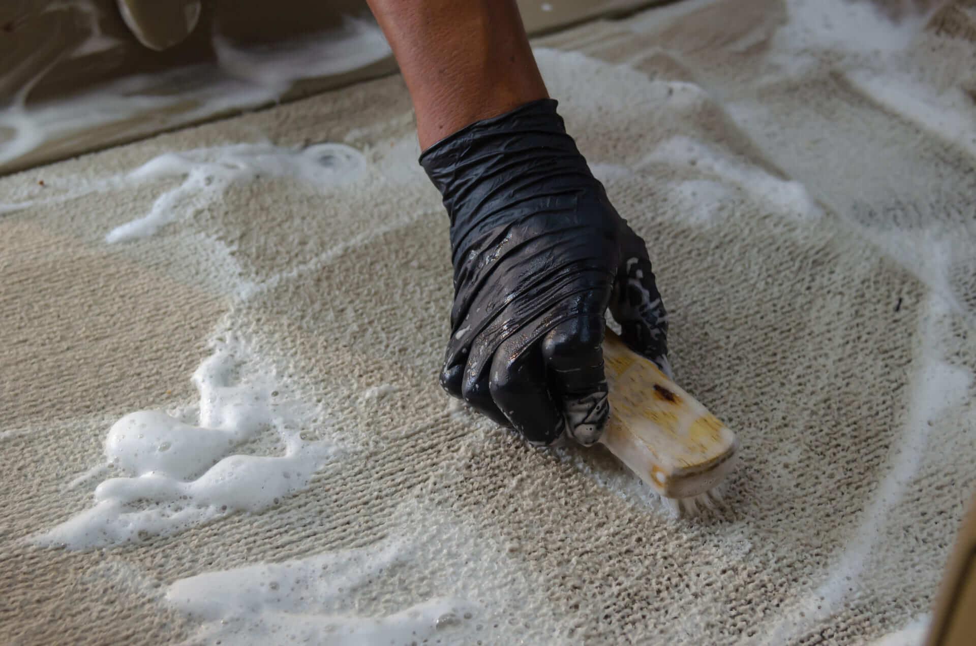 velours teppich reinigen